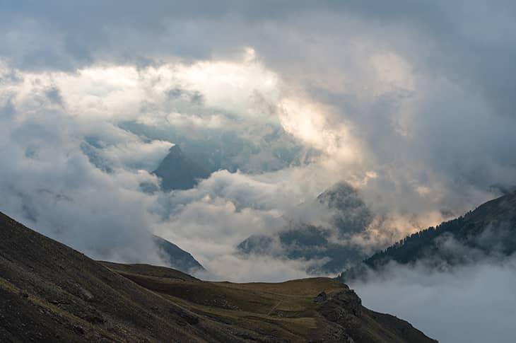 Montagnes à la Carte