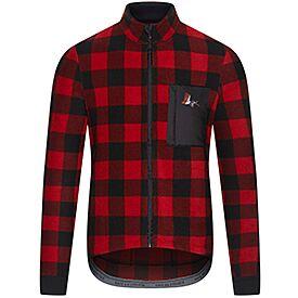 men's gravel jersey solange red