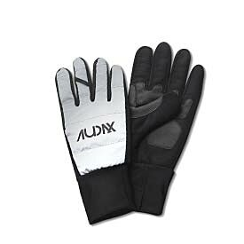 Audax reflective cycling gloves