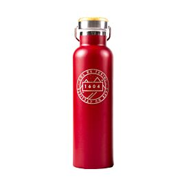 Steel Flask Red