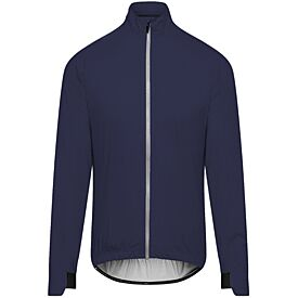 men's suzette navy rain jacket
