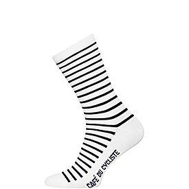 merino cycling socks breton blue