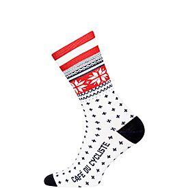 Cycling socks nordic red