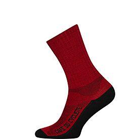 Cycling socks primaloft red