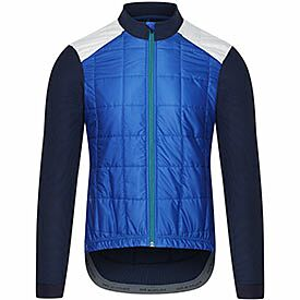 men's insulated jacket Leonie blue
