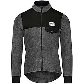 Merino cycling jersey Alphonsine black