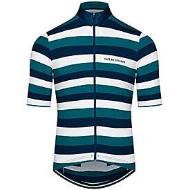 men's Francine breton jersey Navy Pine Green