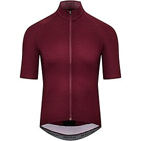 Men's cycling jersey Marina bordeaux