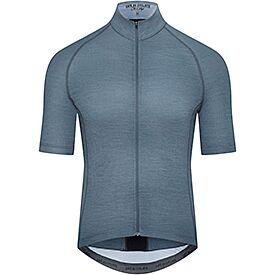 Men cycling jersey Marina graphite blue