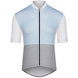 Men lightweight cycling jersey Micheline light blue