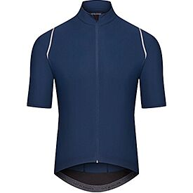 Audax cycling jersey for men Mona blue