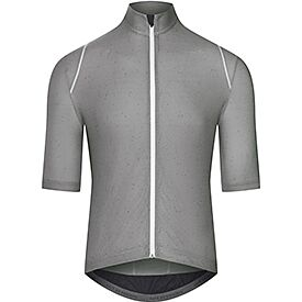 Audax cycling jersey for men grey stratosphere
