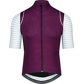 Men's cycling jersey Monique prune
