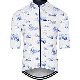 Men's Cycling Jersey Valentine Blue