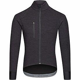 men's Yolande merino jersey black