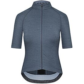 Women's cycling jersey Marina graphite blue