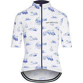 Women's Cycling Jersey Valentine Blue