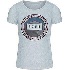 women's t-shirt col stelvio