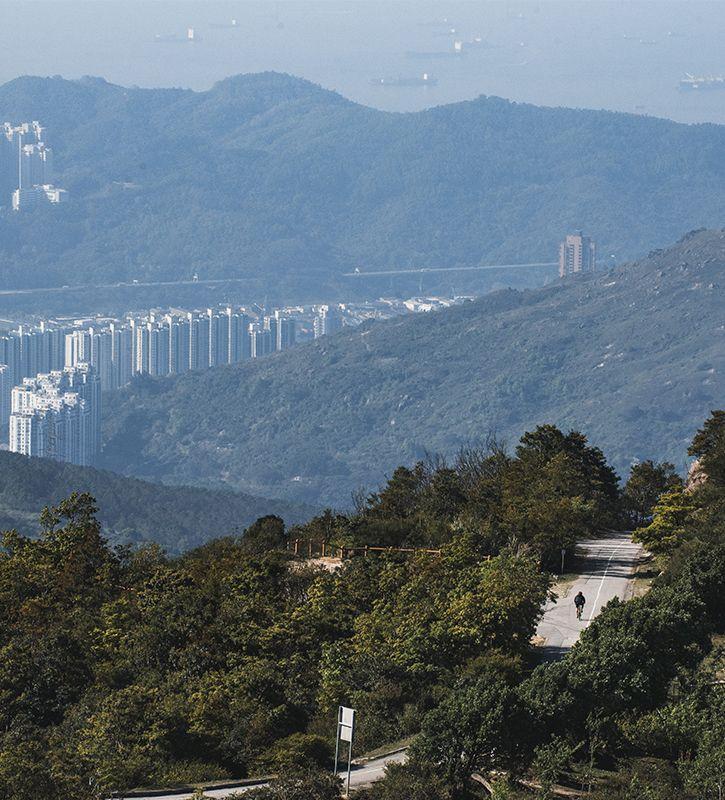 Tai Mo Shan: Montagnes du monde #2