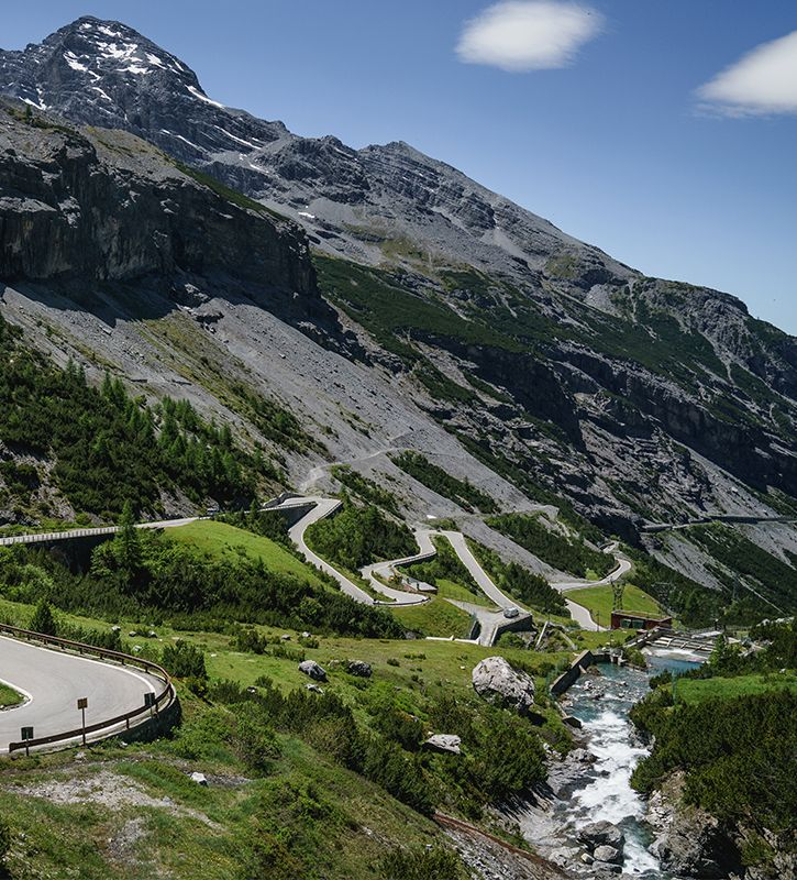 Passo dello Stelvio: Montagnes du monde #5