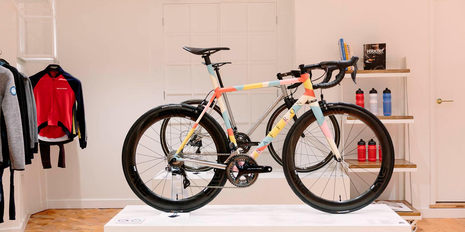 Les Fabricants de Vélos à Londres | Saffron Frameworks