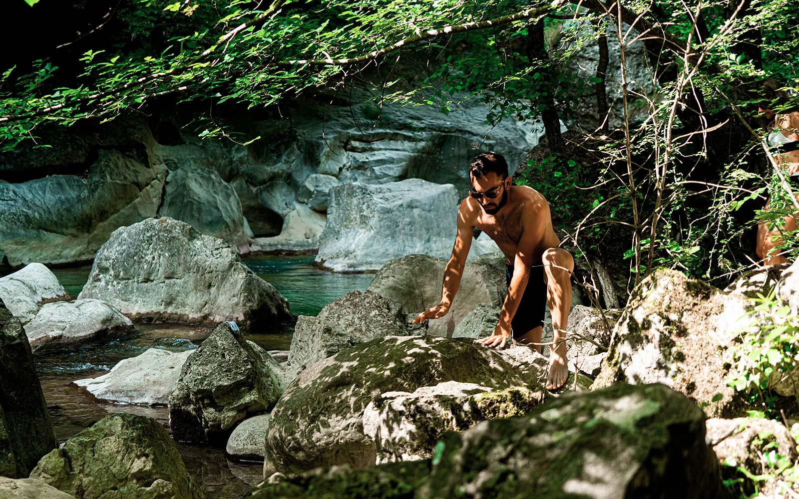 TAKE ME TO THE RIVER : Les Gorges du Loup