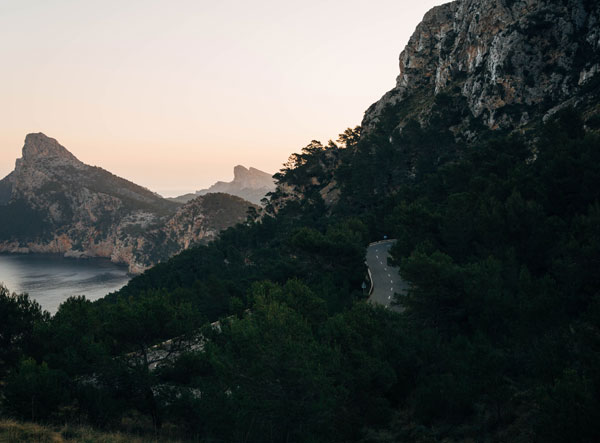 Les cols et ascensions de Majorque : Cap de Formentor